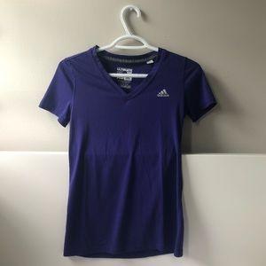 Adidas: Purple-blue T-Shirt💜